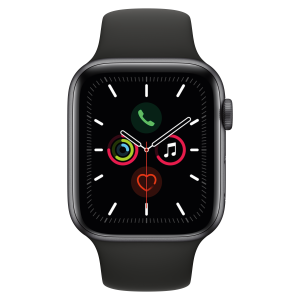 Apple Watch Front (Space Gray)